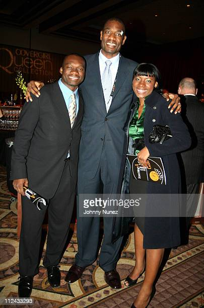 Dikembe Mutombo and His Children during 2007 NBA AllStar in Las Vegas NBA Wives 'Behind the Bench' Touching A Life Gala at Premiere Ballroom MGM...
