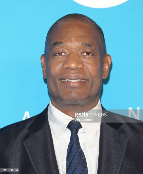 Dikembe Mutombo attends the 13th Annual UNICEF Snowflake Ball 2017 at The Atrium at 60 Wall Street on November 28 2017 in New York City