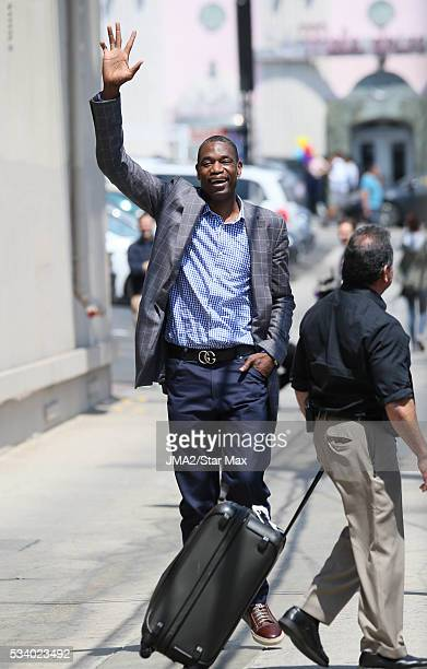 Dikembe Mutombo is seen on May 24 2016 in Los Angeles CA