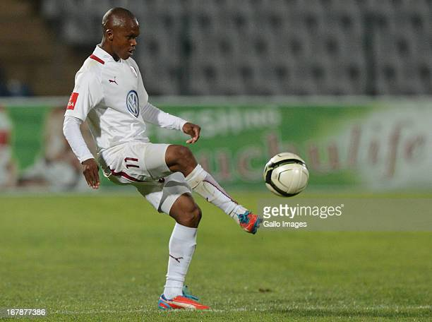 Dikgang Mabalane of Swallows gets his pass away during the Absa Premiership match between Moroka Swallows and Golden Arrows from Volkswagen...