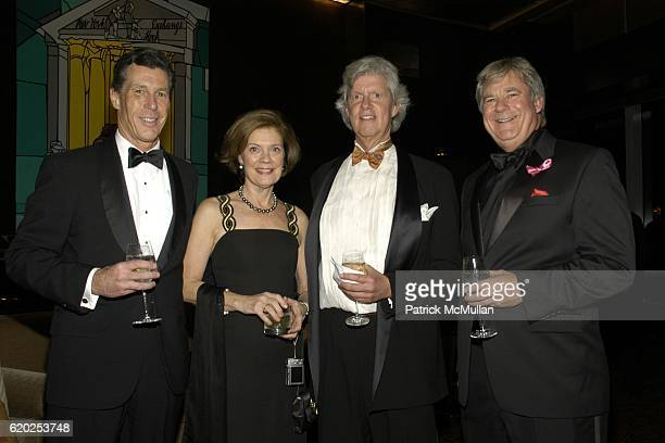 Dil Ayers Liz Watson Doug Sore and Dr Jim Hicks attend Cold Spring Harbor Laboratory's Double Helix Medals Dinner at The Mandarin Hotel on November 6...