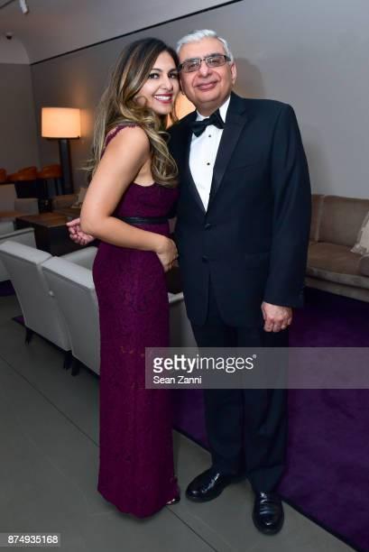 Dilafruz Khonikboyeva and Ali Hirji attend The Aga Khan Foundation Gala at The Metropolitan Museum of Art on November 15 2017 in New York City