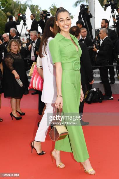 Dilan Deniz attends the screening of The Wild Pear Tree during the 71st annual Cannes Film Festival at Palais des Festivals on May 18 2018 in Cannes...