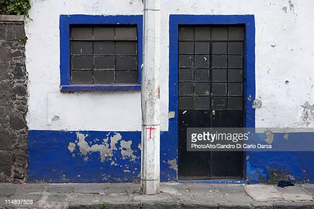 Dilapidated building exterior