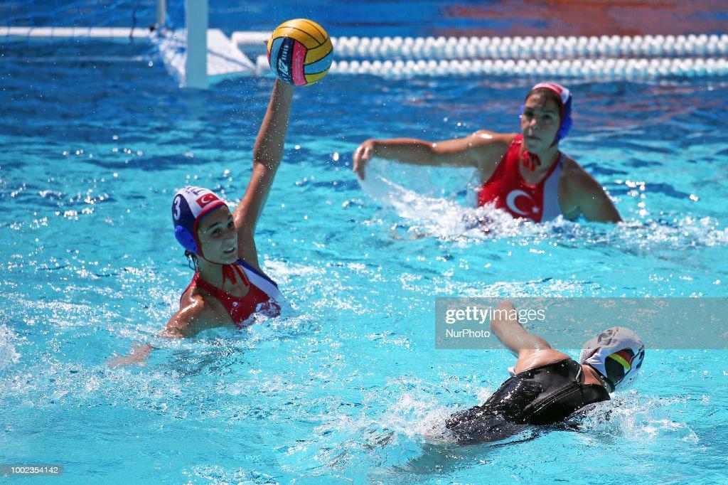 Turkey v Germany - Women European Water Polo