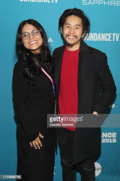 Dilcia Barrera Sundance Film Festival Programmer and Director writer producer Justin Chon attends the Ms Purple Premiere during 2019 Sundance Film...