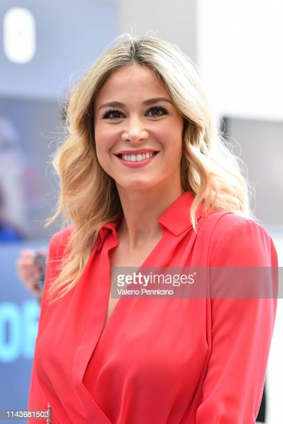Diletta Leotta attends during the AWords at Ara Pacis on May 14 2019 in Rome Italy