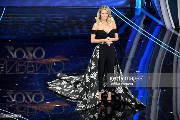 Diletta Leotta attends the 70° Festival di Sanremo at Teatro Ariston on February 04 2020 in Sanremo Italy
