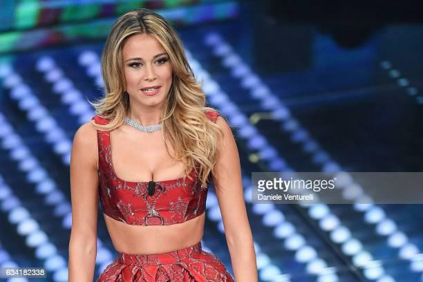 Diletta Leotta attends the opening night of the 67th Sanremo Festival 2017 at Teatro Ariston on February 7 2017 in Sanremo Italy