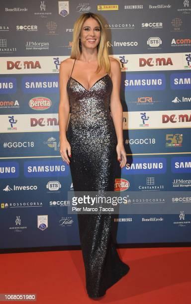 Diletta Leotta attends the 'Oscar Del Calcio AIC' Italian Football Awards on December 3 2018 in Milan Italy