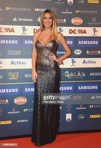 Diletta Leotta attends the 'Oscar Del Calcio AIC' Italian Football Awards on December 3 2018 in Milan Italy