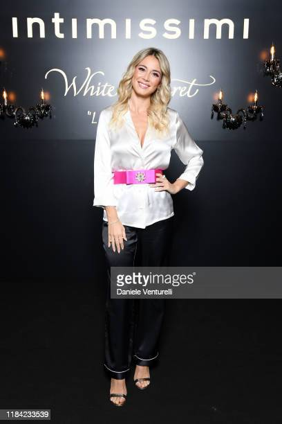 Diletta Leotta attends the White Cabaret La Premiére Intimissimi Show on October 29 2019 in Verona Italy