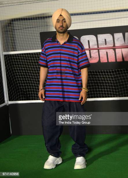 Diljit Dosanjh at the trailer launch of his movie Soorma in Mumbai
