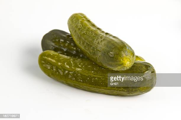 dill pickles - pickled stock pictures, royalty-free photos & images