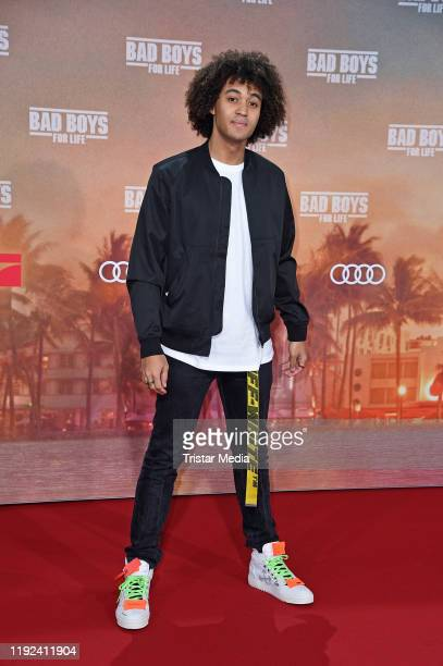 """Dillan White attends the """"Bad boys for life"""" german premiere at Zoo Palast on January 7, 2020 in Berlin, Germany."""
