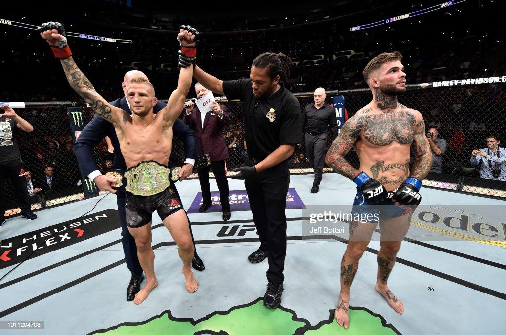 UFC 227: Dillashaw v Garbrandt 2 : News Photo