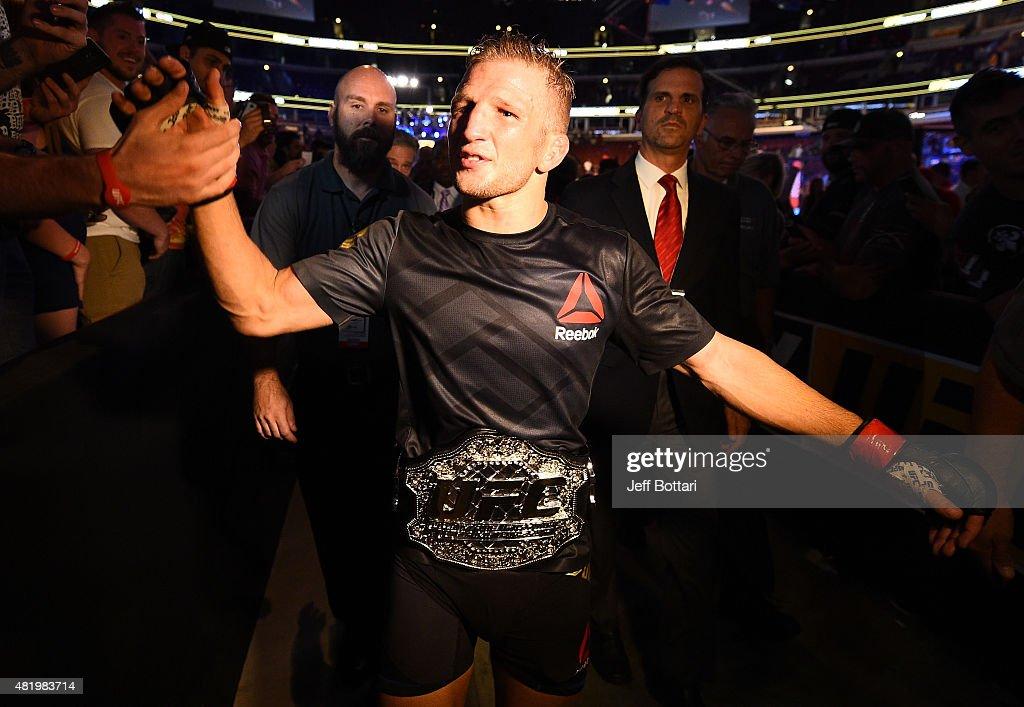 UFC Fight Night: Dillashaw v Barao 2 : News Photo