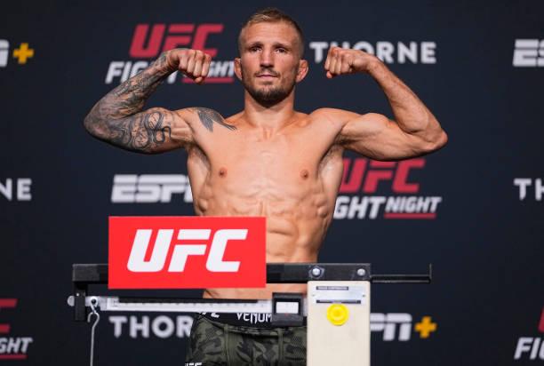 NV: UFC Fight Night: Sandhagen v Dillashaw Weigh-in