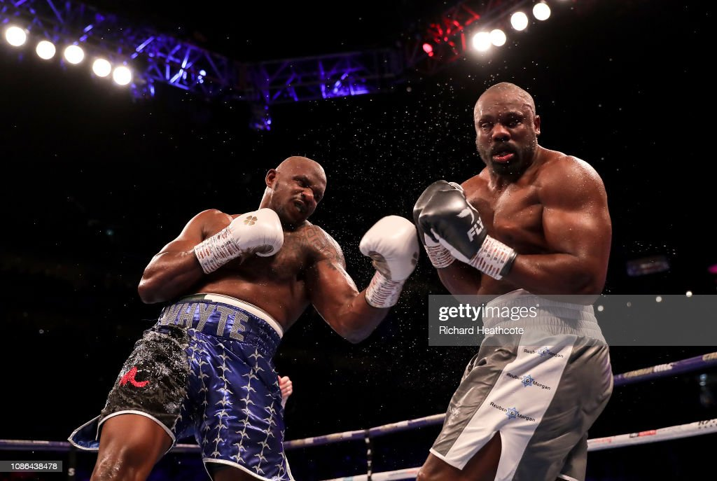 Dillian Whyte v Dereck Chisora 2 - Heavyweight Boxing : News Photo
