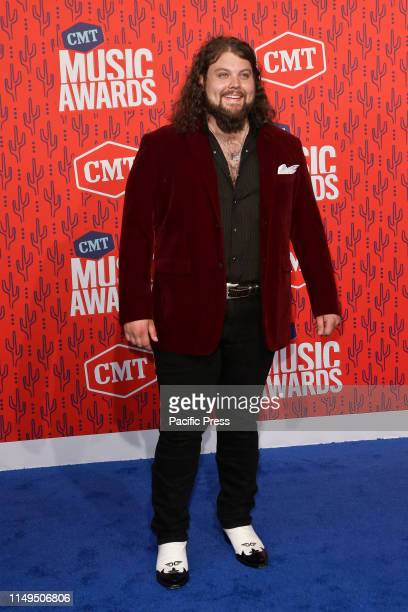 Dillon Carmichael attends the 2019 CMT Music Awards at the Bridgestone Arena in Nashville Tennessee