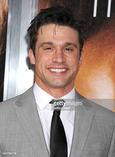"""Dillon Casey arrives at """"The Vow"""" Los Angeles Premiere at Grauman's Chinese Theatre on February 6, 2012 in Hollywood, California."""