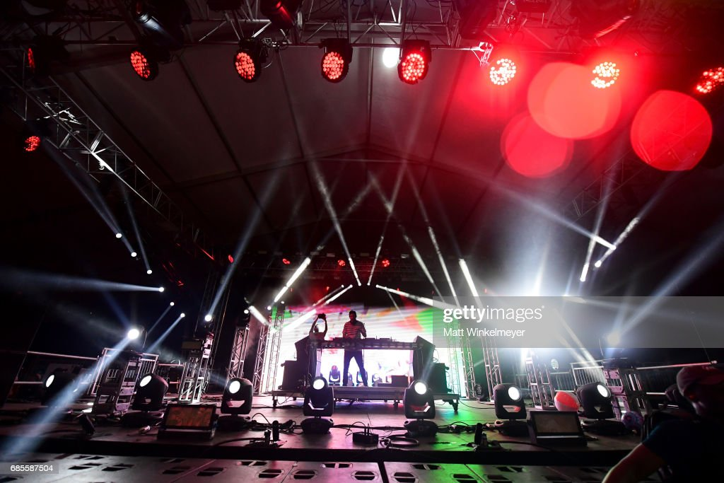 DJ Dillon Francis performs at the Boom Boom Tent during 2017 Hangout Music Festival on May 19, 2017 in Gulf Shores, Alabama.