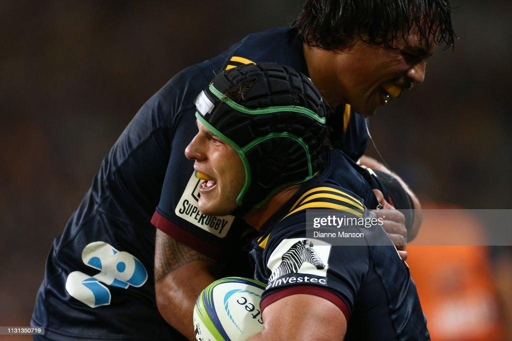 Super Rugby Rd 2 - Highlanders v Reds : News Photo