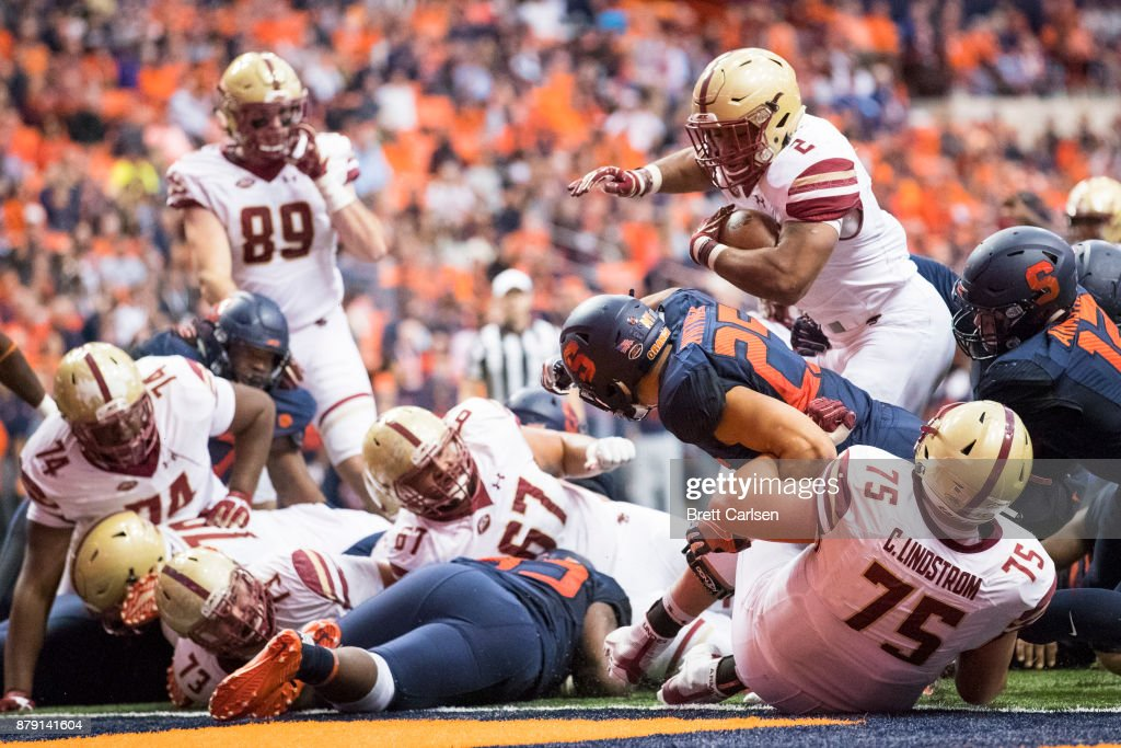 Boston College v Syracuse : News Photo