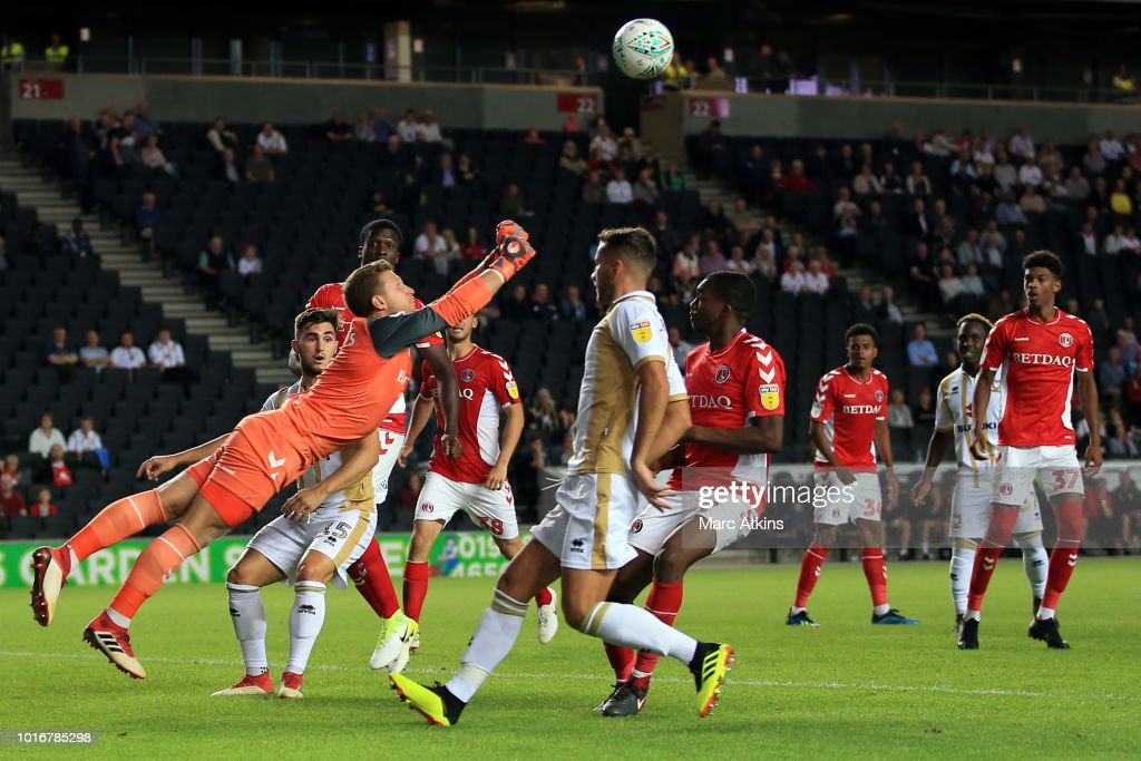 Milton Keynes Dons v Charlton Athletic - Sky Bet League Two - Carabao Cup First Round