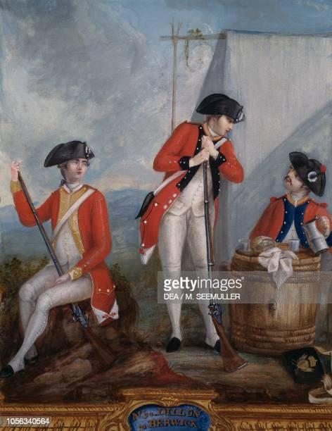 Dillon regiment camp United States of America American Revolutionary War 18th century