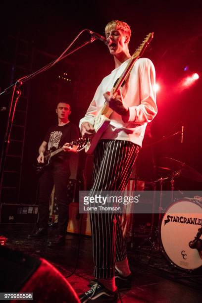 Dillon Squire of Heavy Rapids performs at The Garage on June 20 2018 in London England