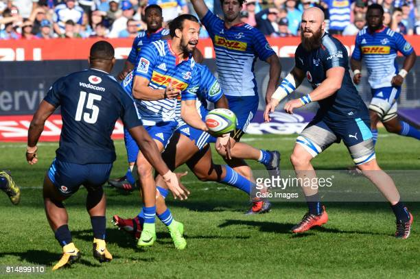 Dillyn Leyds of Stormers during the Super Rugby match between Vodacom Bulls and DHL Stormers at Loftus Versfeld on July 15 2017 in Pretoria South...
