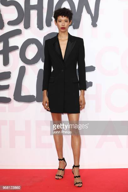 Dilone attends Fashion for Relief Cannes 2018 during the 71st annual Cannes Film Festival at Aeroport Cannes Mandelieu on May 13 2018 in Cannes France