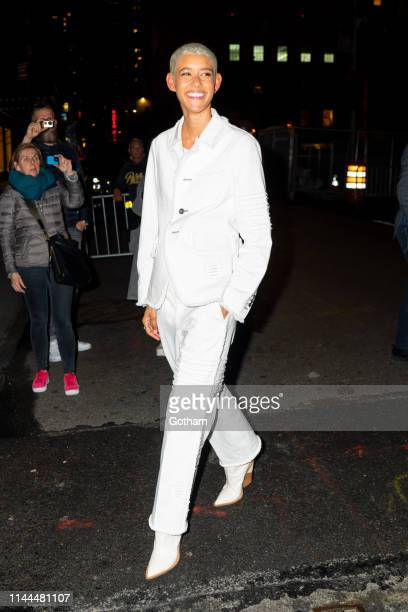 Dilone attends Gigi Hadid's 24th Birthday at L'Avenue in Midtown on April 22 2019 in New York City