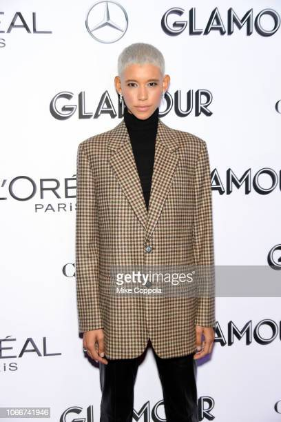 Dilone attends Glamour Women of the Year Awards 2018 at Spring Studios on November 12 2018 in New York City
