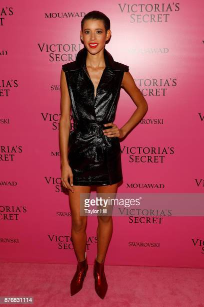 Dilone attends the 2017 Victoria's Secret Fashion Show After Party on November 20 2017 in Shanghai China