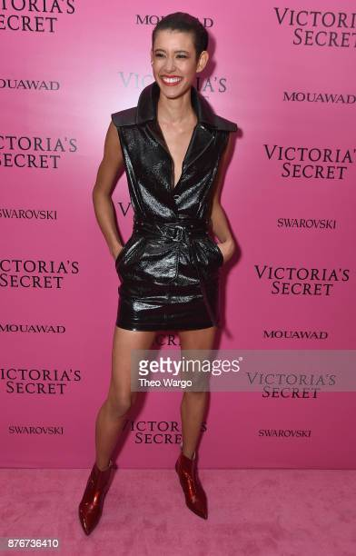 Dilone attends the 2017 Victoria's Secret Fashion Show In Shanghai After Party at MercedesBenz Arena on November 20 2017 in Shanghai China