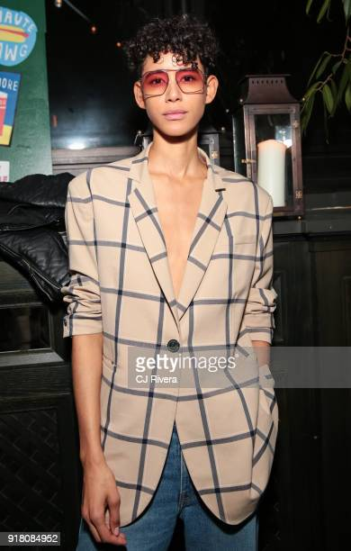 Dilone attends the Monse launch party during New York Fashion Week on February 13 2018 in New York City