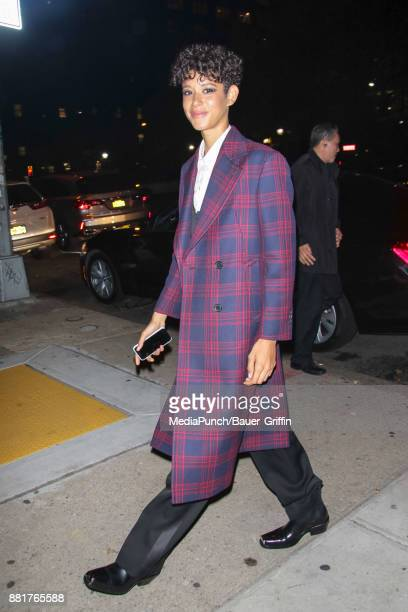 Dilone is seen on November 28 2017 in New York City