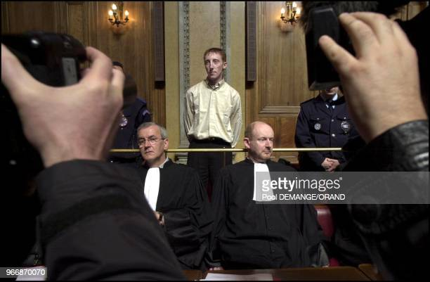 Dils during hearing of Francis Heaulme as a witness in the former's appeal trial
