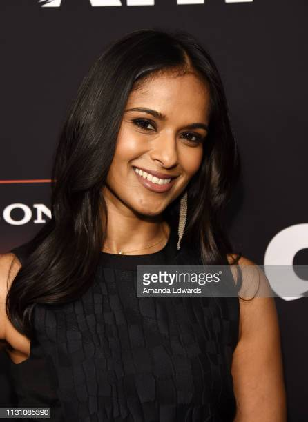 Dilshad Vadsaria arrives at Sony Crackle's 'The Oath' Season 2 exclusive screening event at Paloma on February 20 2019 in Los Angeles California