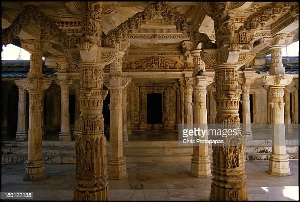 dilwara temple - dilwara temples stock pictures, royalty-free photos & images