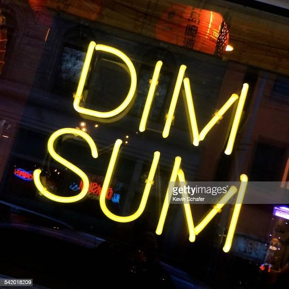 Dim Sum Neon Sign Chinese Restaurant International District News Photo Getty Images