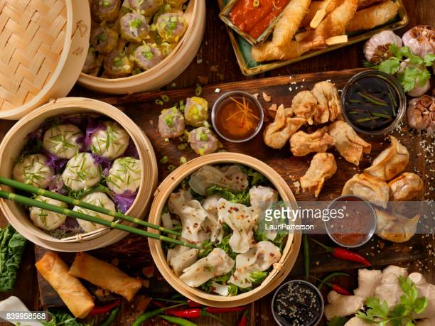 dim sum - chinese culture stock pictures, royalty-free photos & images