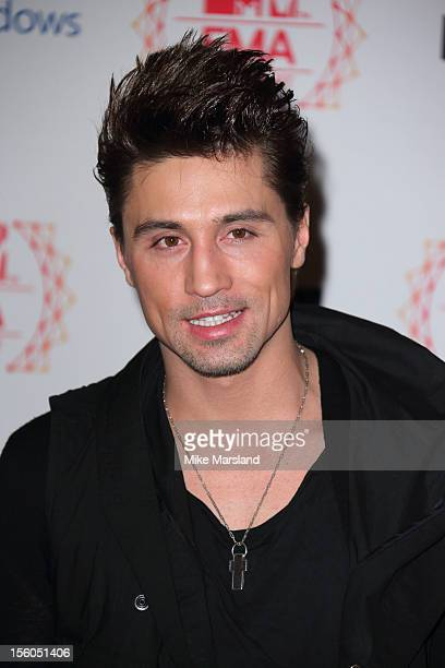 Dima Bilan attends the MTV EMA's 2012 at Festhalle Frankfurt on November 11 2012 in Frankfurt am Main Germany
