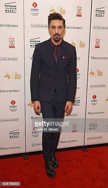 Dima Bilan attends the Opening Night Gala screening of The Heritage Of Love during Russian Film Week 2016 at Regent Street Cinema on November 30 2016...