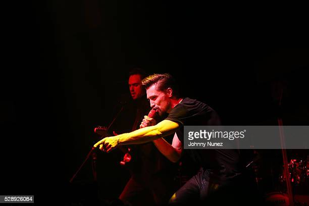 Dima Bilan performs at Stage 48 on May 6 2016 in New York City