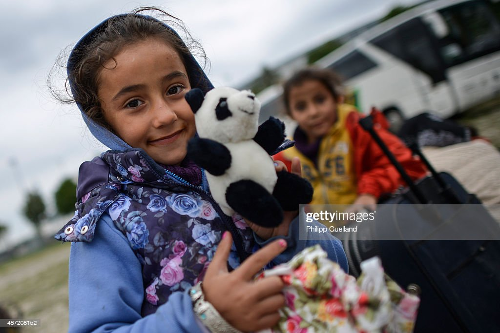 Germany Expects Further 10,000 Migrants To Arrive Today : News Photo