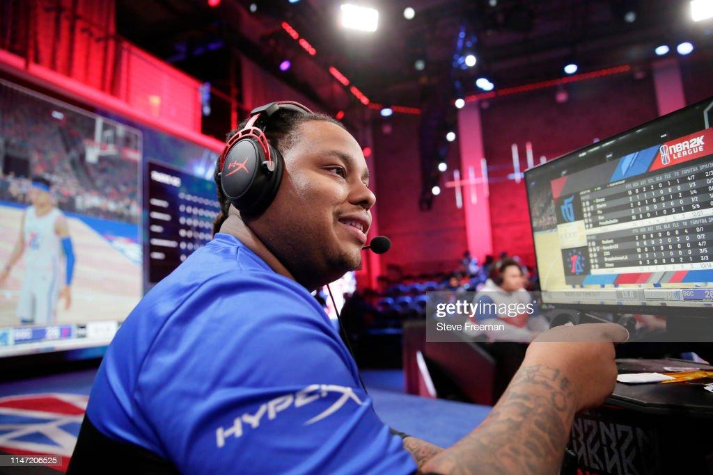 Mavs Gaming v 76ers Gaming Camp : News Photo