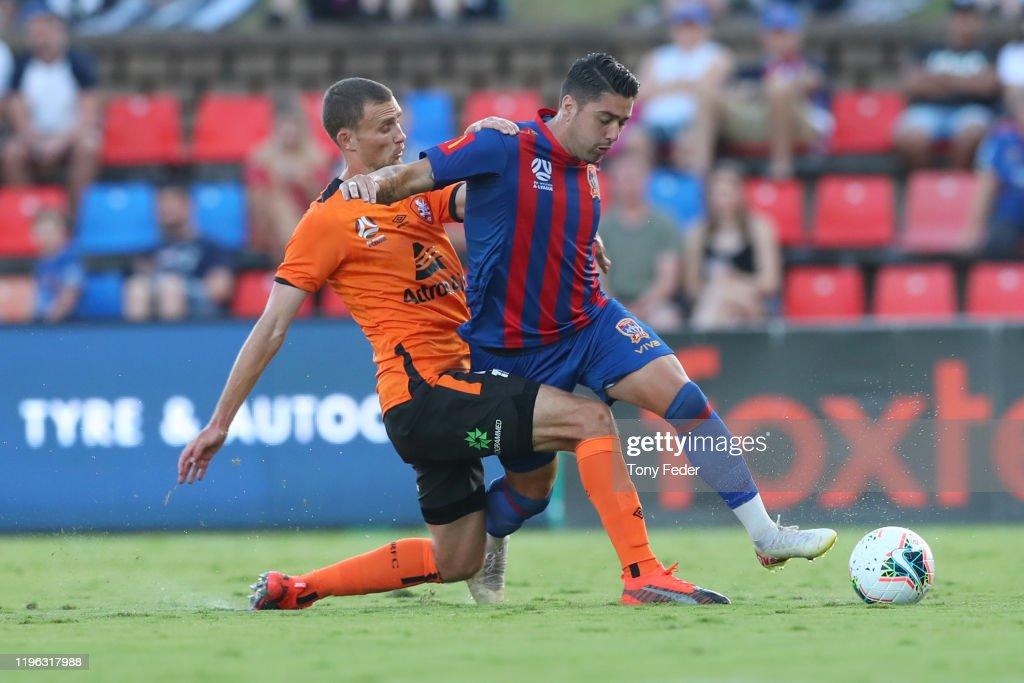 A-League Rd 12 - Newcastle v Brisbane : ニュース写真